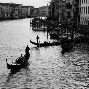 If not in Venice at list on a Gondola..