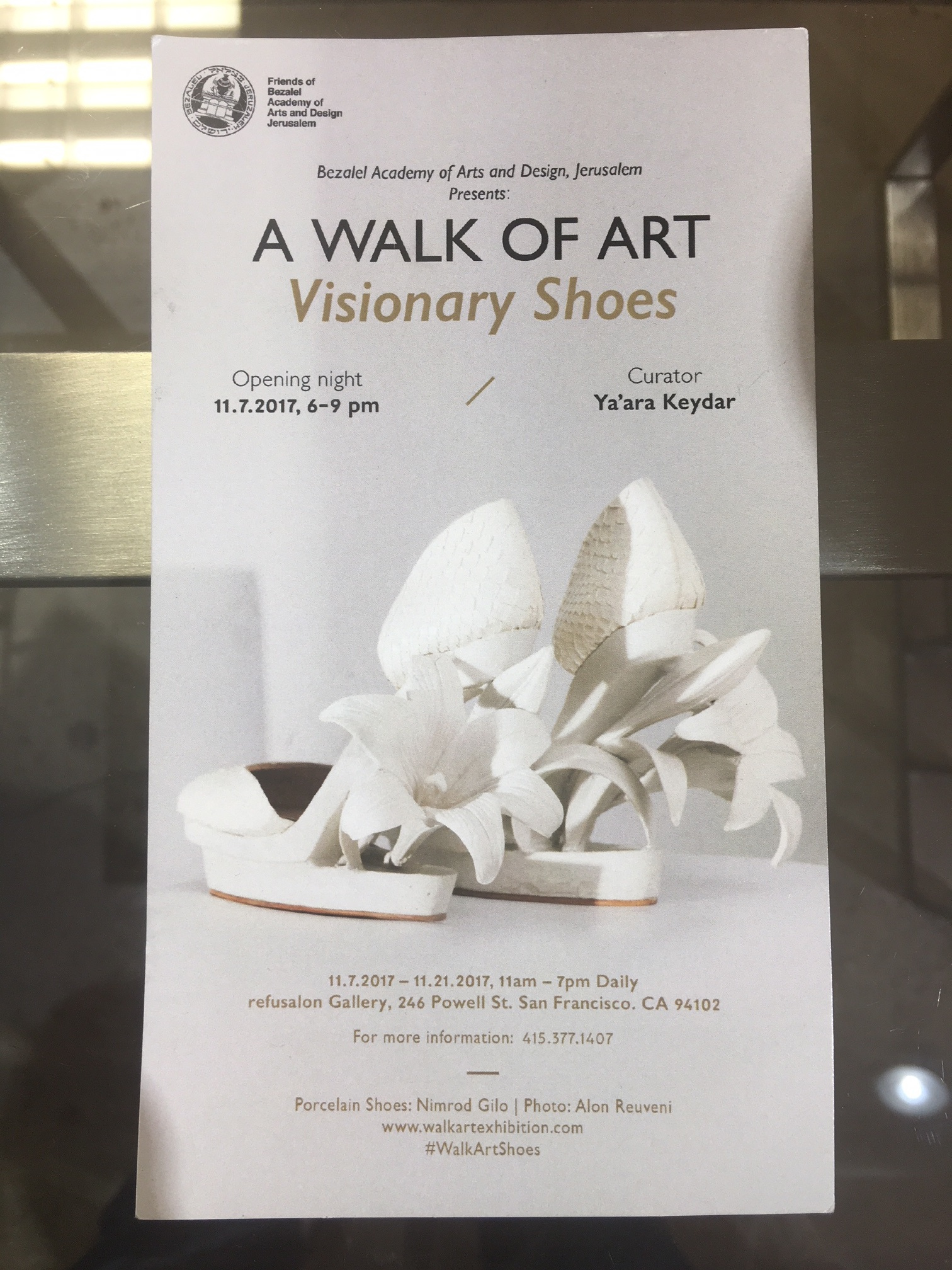 A Walk Of Art Visionary Shoes In San Francisco
